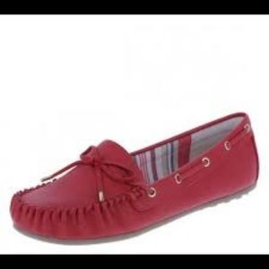 🔥30%OFF🔥Dexflex Comfort red loafers size 7